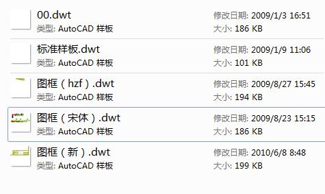 CAD各种样板,图层,标注样式,常用