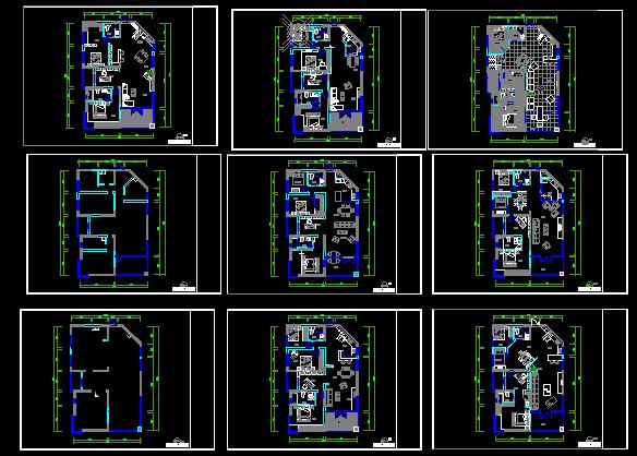 样板房设计施工图