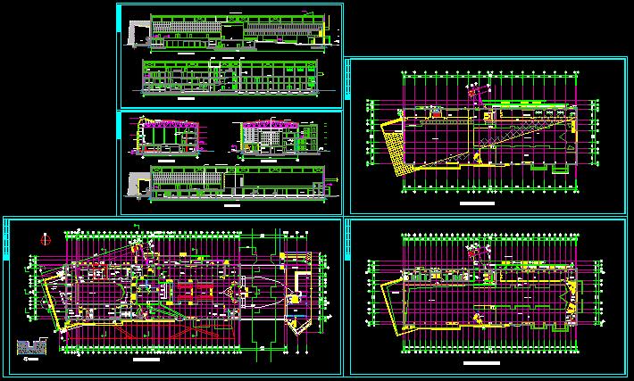 中海会所建筑施工图