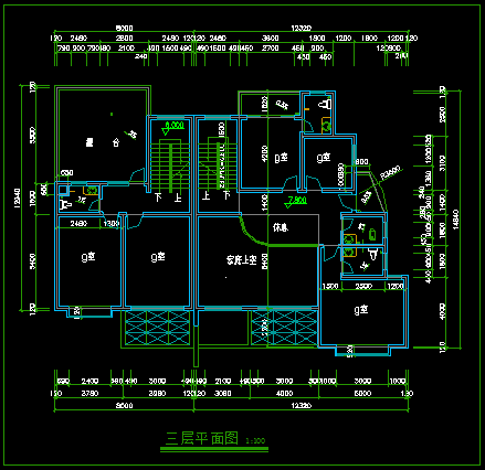 住宅建筑方案图
