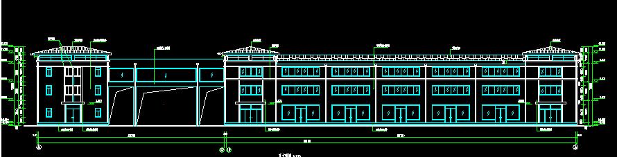 住宅小区建筑图