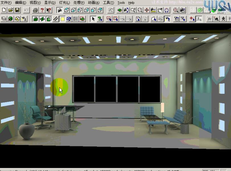 史上最强3Dmax室内设计家庭装修实例视频教程