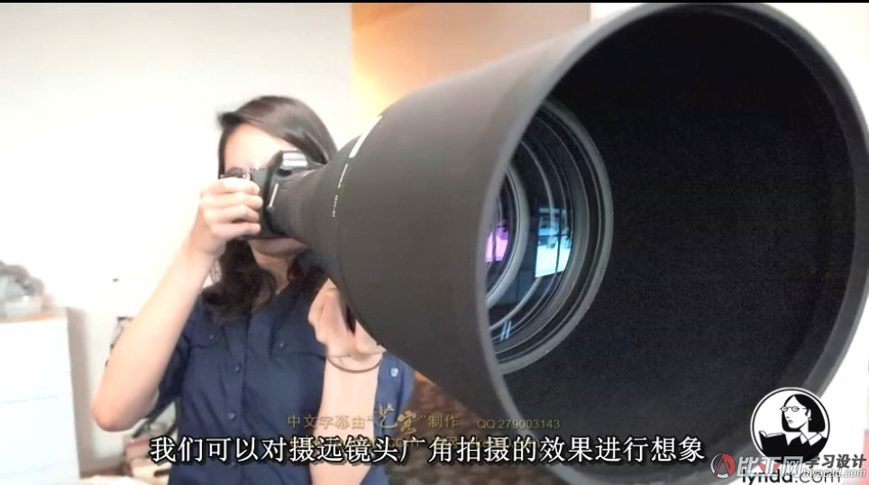 镜头讲解与摄影应用教程中文字幕