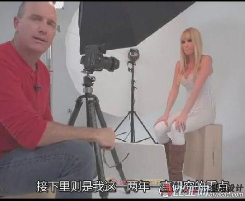 Joel Grimes商业时尚人像摄影布光讲解与后期教程_中文字幕