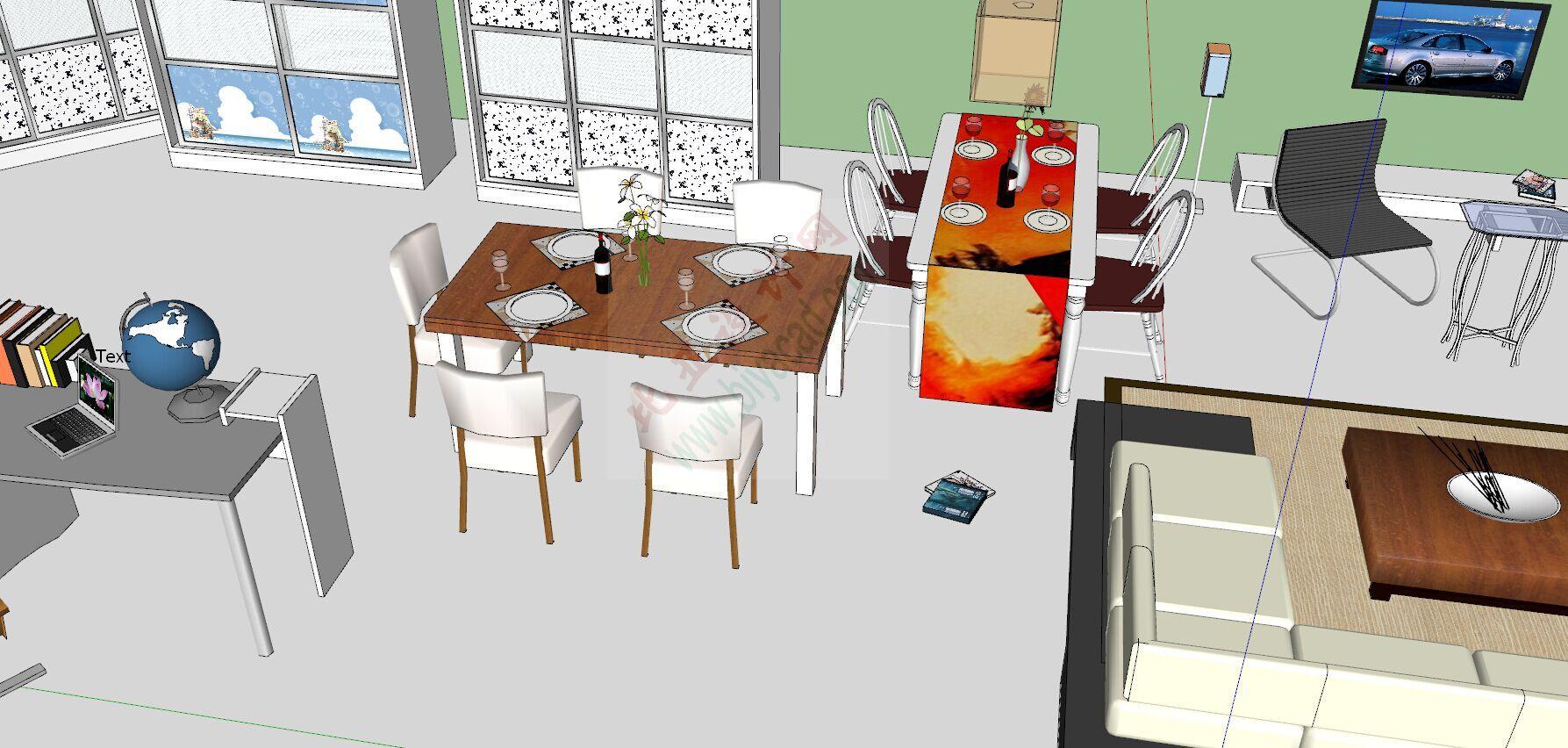 室内家装常用精品模型库