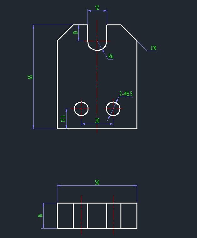 U型定位槽